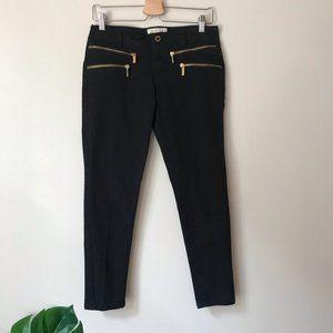 Michael Kors | Black Ankle Length Skinny Jeans 8